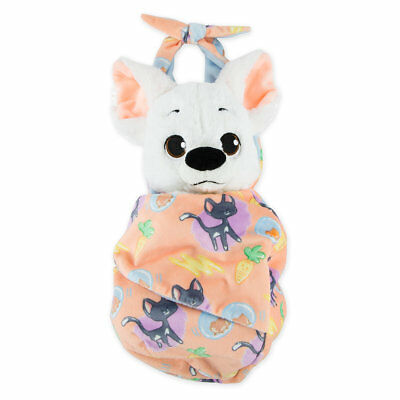 Disney Parks Disney Babies Bolt Plush With Blanket Pouch Self-Stick Fastener