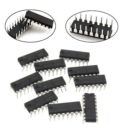 New 5/10/20Pcs SN74HC595N 74HC595 8-Bit Shift Register DIP-16 IC
