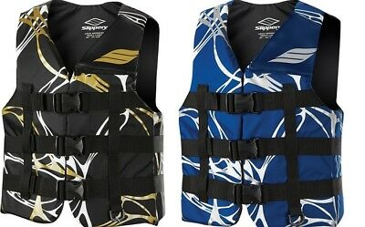 Slippery Adult PWC Phoenix Nylon Life Vest Jacket All Colors XS-3XL