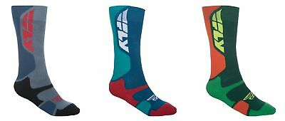 Fly Adult MX ATV Motorcycle Pro Sock Thick Riding Socks All Colors And Sizes