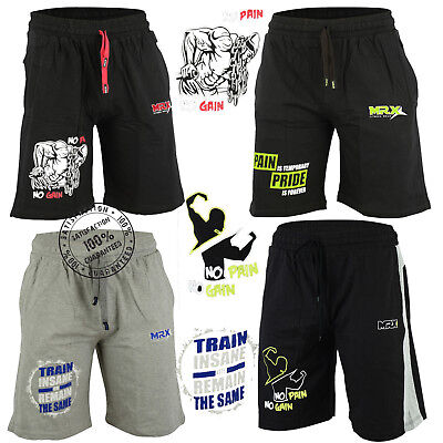 Mens Workout Shorts Running Jogging Gym Fitness Exercise MRX Activewear Clothing