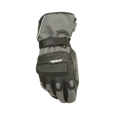 Fly Street ADULT Motorcycle Xplore Gloves Gun Metal Gloves Size Small