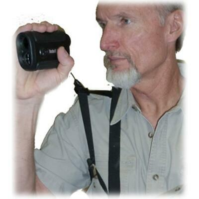 Crooked Horn Outfitters Bino-System, w/Rangefinder Holster Black, RF-200