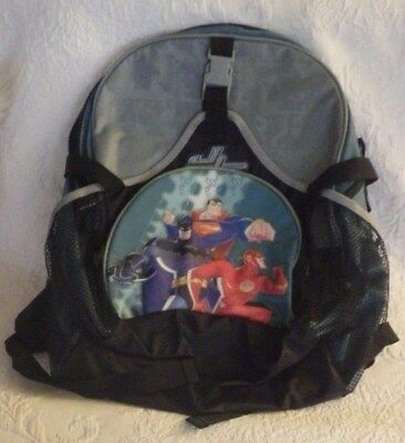 8d7656a1cdc5 BACKPACK WITH LIGHTS Justice League Kids DC Comics School Superman ...