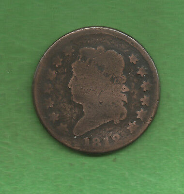 1812 Classic Head, Large Cent, Reverse Rotated - 205 Years Old!!!