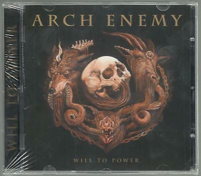 Arch Enemy Will To Power Sealed Cd New