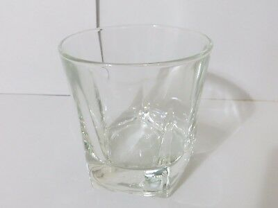 Canadian Club Classic Whiskey Pentagon Shaped Heavy Base Glass