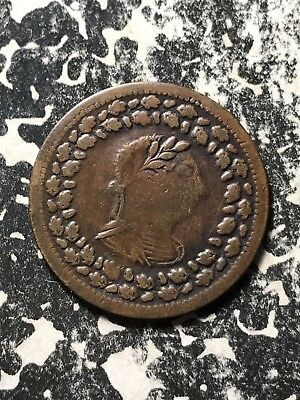 1812 Lower Canada Tiffen Token Halfpenny Lot#X972 LC-48C3 Nice!