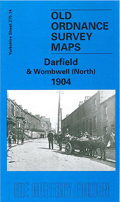 Old Ordnance Survey Map Darfield & Wombwell North 1904 Low Valley Snape Hill