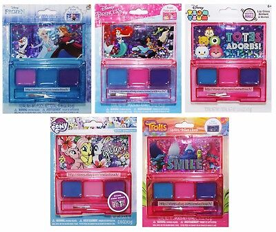 TOWNLEY 5pc LIP GLOSS Compact/Palette+Brush CHARACTER 3 Color *YOU CHOOSE* New!