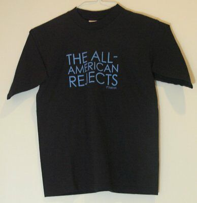 """All American Rejects """"Vintage"""" T-Shirt S Fall Out Boy Motion City Soundtrack"""
