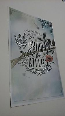 POSTER by LORI McKENNA bird rifle For The Bands new tour show promo ART album cd
