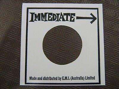 Record Sleeve Reproduction - Immediate