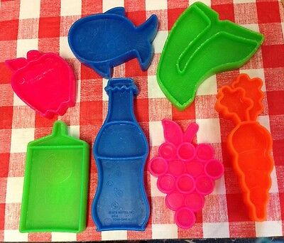 VTG Play Food Pretend Kitchen Groceries Tuff Stuff MATTEL 1972 Lot