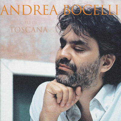 Andrea Bocelli ( New Sealed Cd ) Cieli Di Toscana