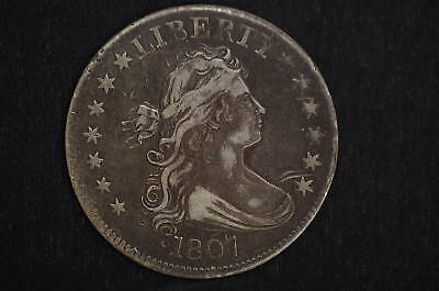 1807  XF Detail   Draped Bust Quarter  Condition Rarity