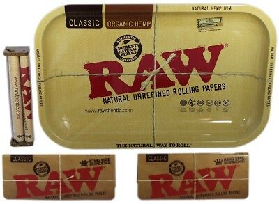 RAW Rolling KIT - Raw 110mm Roller + 2 PKS RAW King Size Supreme Papers + TRAY