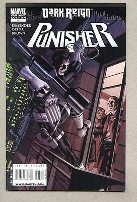 Punisher #4-2009 fn+ variant cover / RICK REMENDER Dark Reign