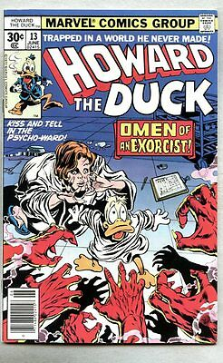 Howard The Duck #13-1977-fn+ 1st full Kiss (band) appearance in comic books