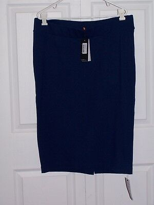 Nwt Isabella Oliver Maternity Pencil Skirt In Rich Navy Size 5