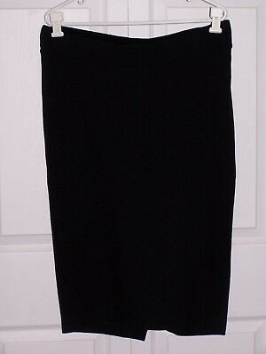 ISABELLA OLIVER MATERNITY PENCIL SKIRT in BLACK SIZE 4