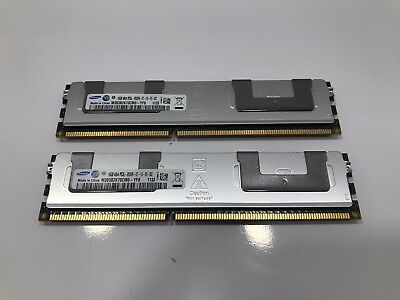 2x Samsung 16GB 4Rx4 PC3L-8500R ECC Memory Sticks (Total 32GB)