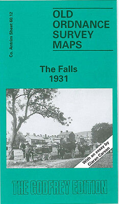 Old Ordnance Survey Map The Falls 1931 Belfast Cupar Street Roden Street