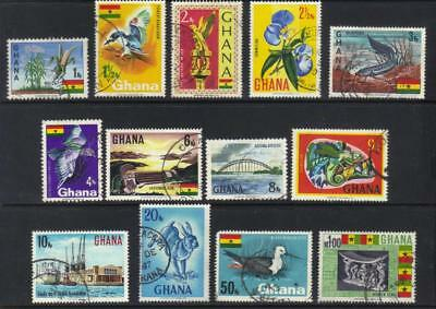 Ghana 1967 Defins 13 Used Values Cat £11+