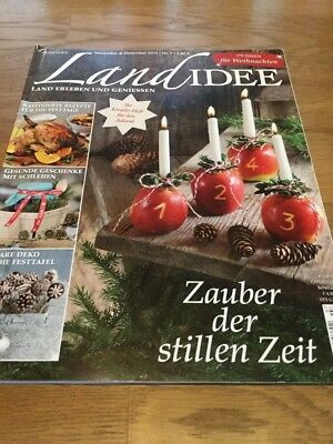 landlust zeitschrift nov dez 2014 weihnachten eur 1 00. Black Bedroom Furniture Sets. Home Design Ideas