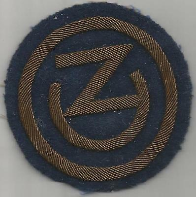 WW 2 US Army 102nd Infantry Division Bullion Patch Inv# S572