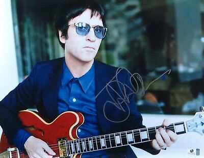 Johnny Marr Signed Autographed 11X14 Photo The Smiths Guitarist GV775799