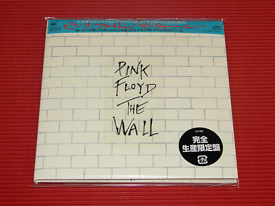 2017 PINK FLOYD The Wall  JAPAN MINI LP 2 CD