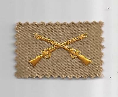WW 2 Cloth Officers Collar Infantry Insignia Inv# OQ024