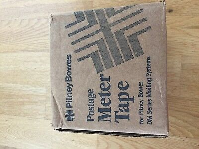 PITNEY BOWES 627-8  - POSTAGE METER TAPE -   3 Rolls in Unopened Box