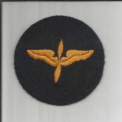 WW 2 US Army Air Forces Cadet Advanced Courses Wool Patch Inv# B004