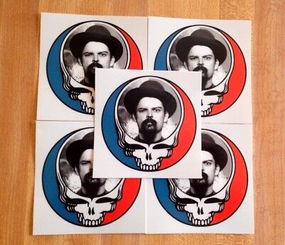 5 Pack Grateful Dead Steal Your Face Pigpen Stickers.