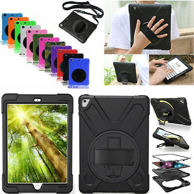 For iPad Mini Air 1 2 3 4 Pirate Rotating Shockproof Defender Armor Case Cover