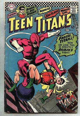 Teen Titans #5-1966 vg The Ant / Nick Cardy Bob Haney