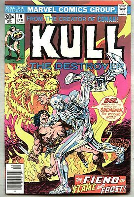 Kull The Conqueror #19-1977-vf/nm Kull The Destroyer Ed Hannigan