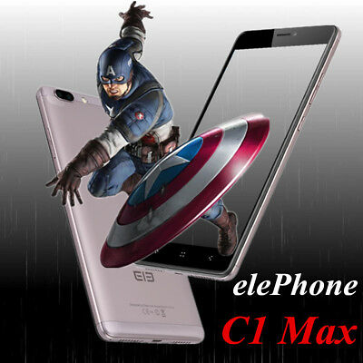 "6.0"" 3*cam Elephone C1 Max 2SIM 32GB 13MP 4G Android7.0 Téléphone Mobile phone"