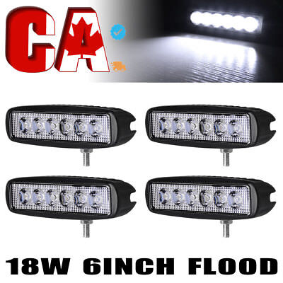 2x New Spot LED Work Light Bar Lamp Driving Fog Offroad SUV 4WD Car Truck 12V