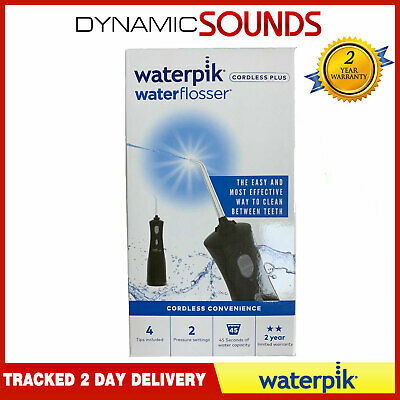 Waterpik Ultra Cordless Plus BLACK Dental Water flosser Teeth Flossing Water Jet