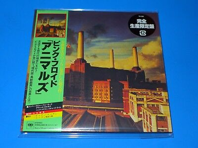 2017 Japan Pink Floyd The Animals Mini Lp Cd