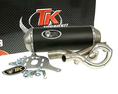 Exhaust Sport with E Characters Turbo Kit GMax 4T for Suzuki Burgman 125i 150i