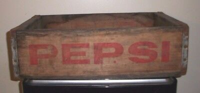(1) 1949 Thru 1960 Pepsi Akron/Youngstown/Cleveland Soda Bottle Crate/Carrier
