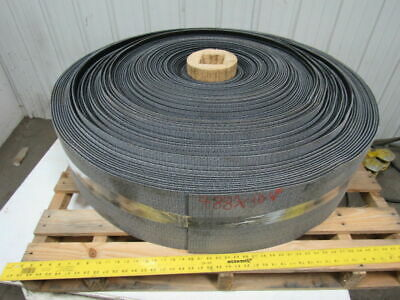 "1 ply black rough top incline conveyor belt 488ft x 10-1/8"" 0.275"" thick"