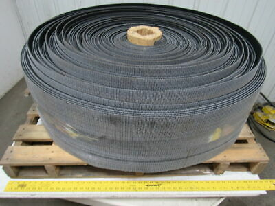 "1 ply black rough top incline conveyor belt 542ft x 11-7/8"" 0.275"" thick"