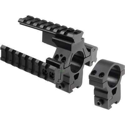 """2X25.4mm x 11mm Tactical Rifle Scope//Laser High Stand Mounts 1/"""" Fit Weaver Rail"""
