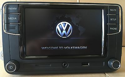 original vw autoradio composition touch rcd330 bluetooth. Black Bedroom Furniture Sets. Home Design Ideas