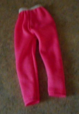 Pink Stretch Pants w/White Waist for Tiny Kitty Doll